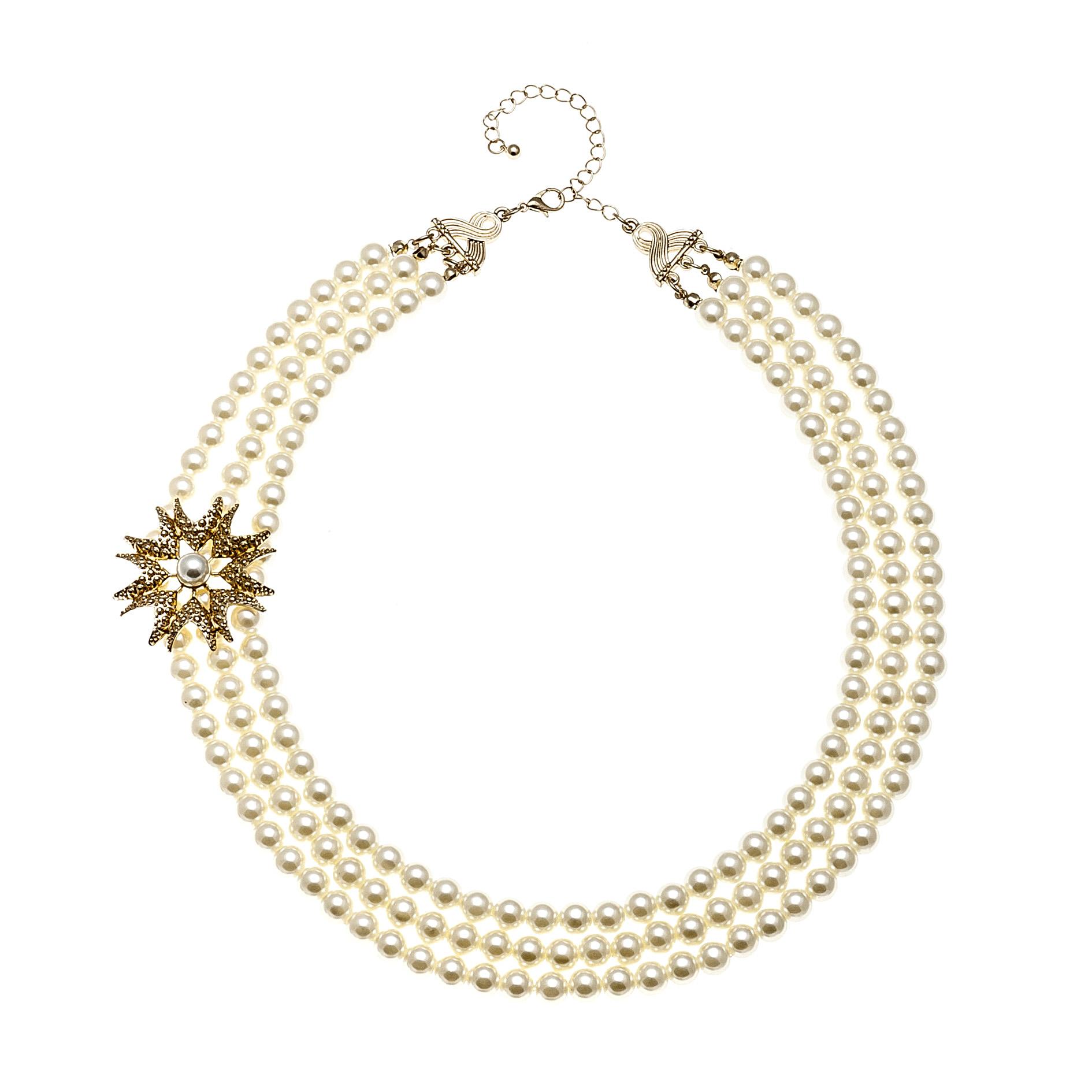 多层经典珍珠项链