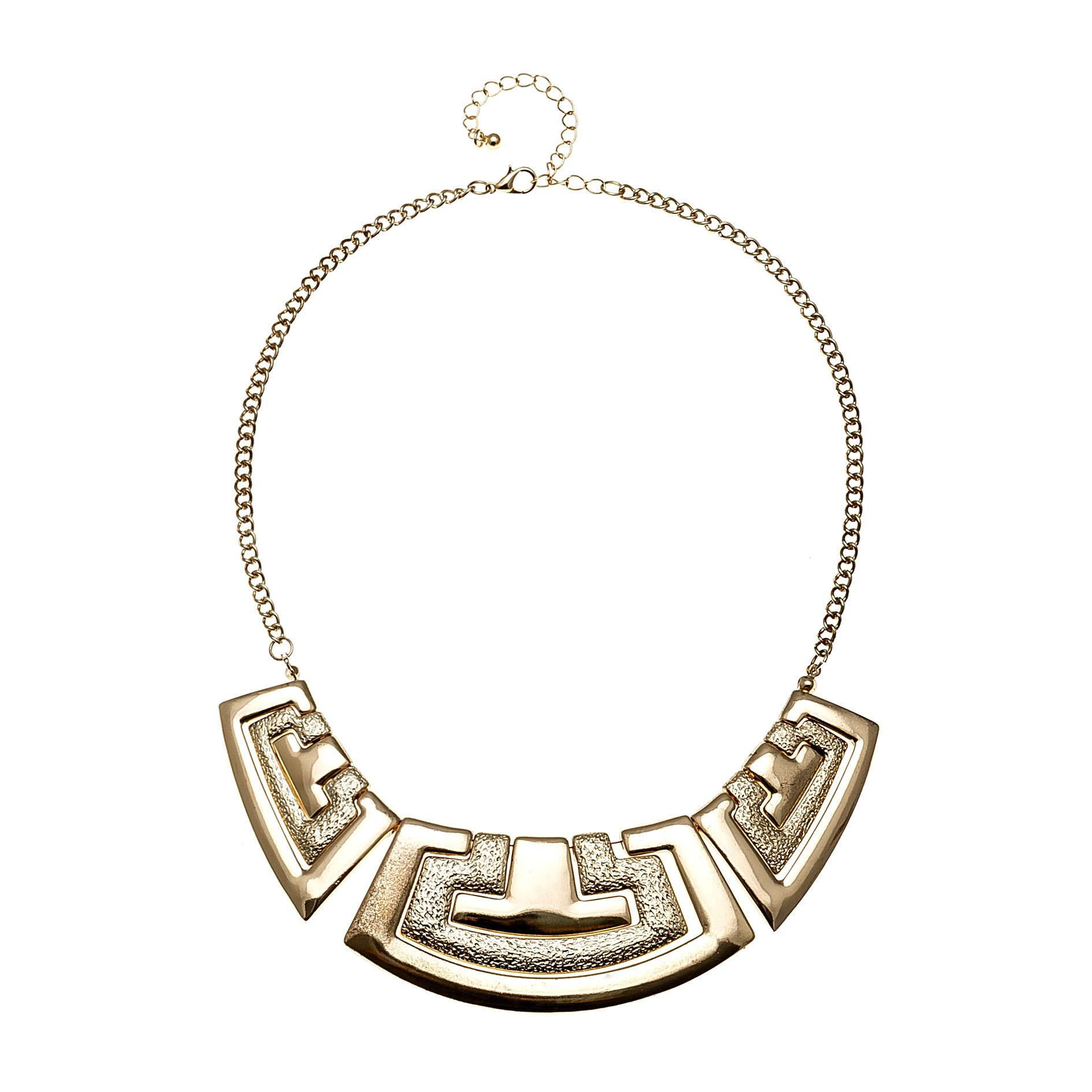 欧美时尚金属夸张项链