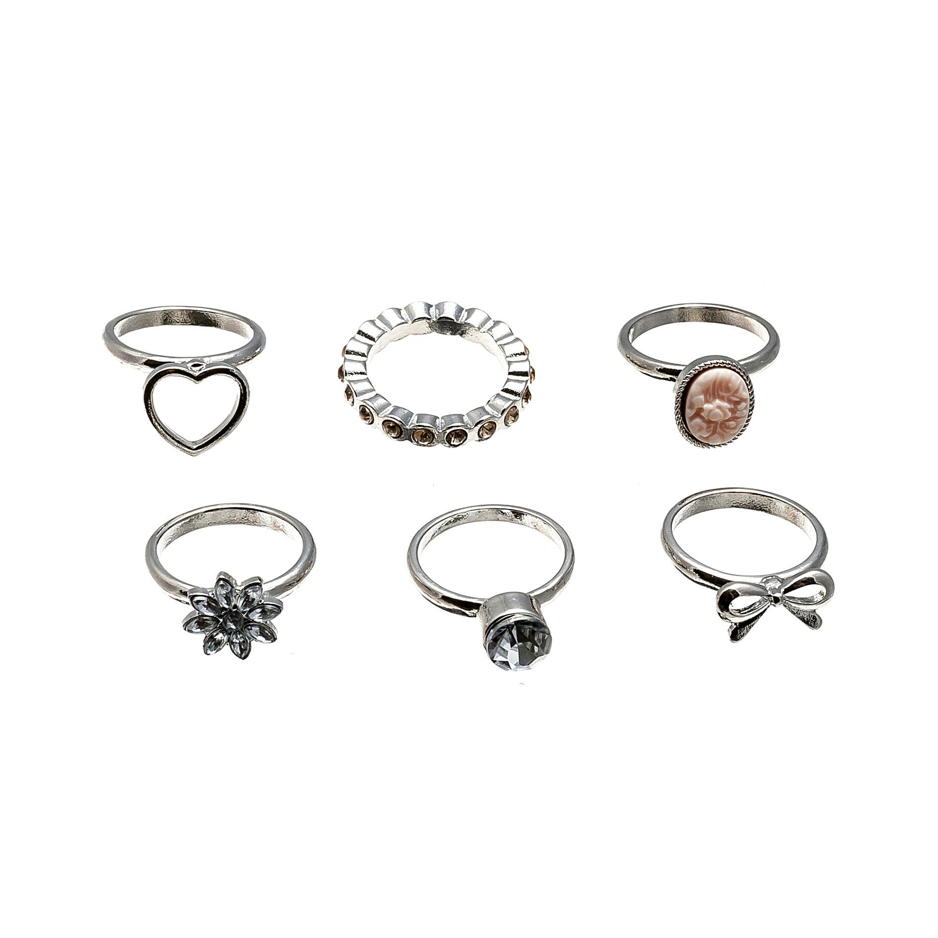 多个一套甜美系列戒指