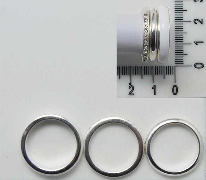 三个一套简约戒指圈