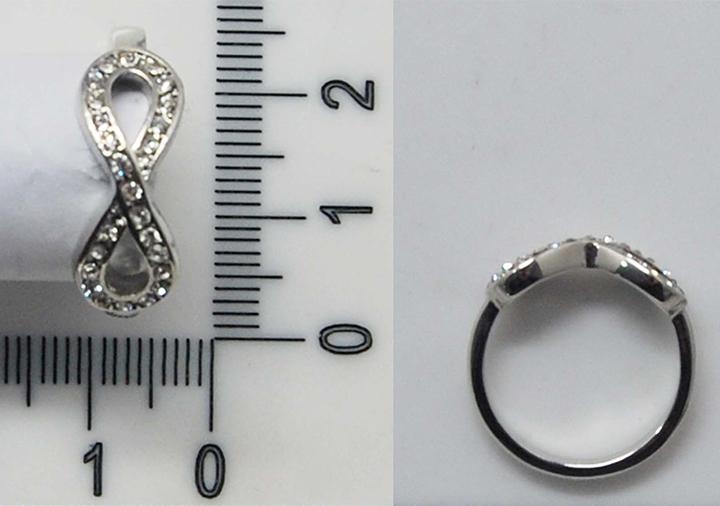 无穷符号时尚精致戒指